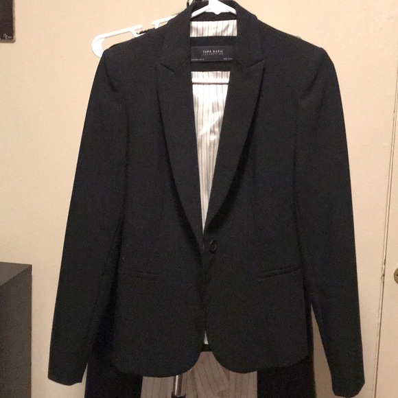 2f382513 Zara Jackets & Coats | Basic Blazer | Poshmark